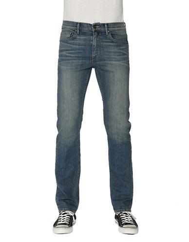 PAIGENormandie Stretch Denim Straight Leg Jeans