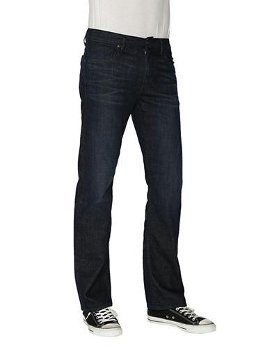 PAIGEDoheny Stretch Denim Straight Leg Jeans