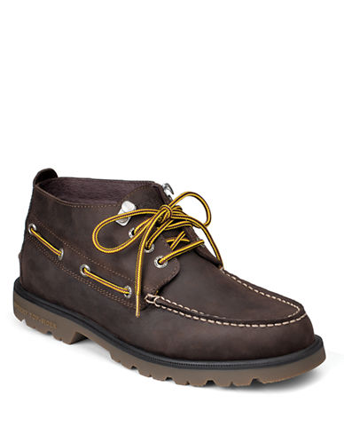 SPERRY TOP-SIDER AO Leather Lug Sole Chukka Boots