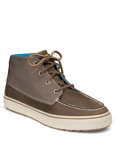 SPERRY TOP-SIDER Bahama Leather Lug Chukka Boots