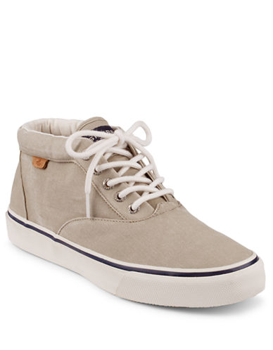 SPERRY TOP-SIDER Striper Canvas Chukka Boots