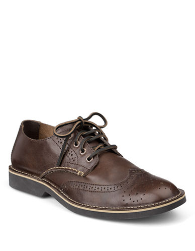 SPERRY TOP-SIDER Harbor Leather Wingtip Oxfords