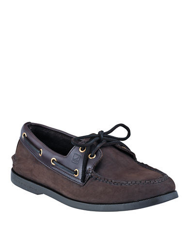 SPERRY TOP-SIDERTwo-Eye Leather Boat Shoes