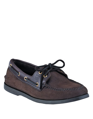 SPERRY TOP-SIDER A/O Two-Eye Leather Boat Shoes
