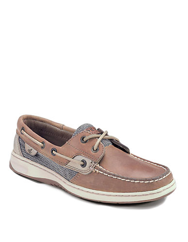 SPERRY TOP-SIDERBluefish Water-Resistant Leather Boat Shoes