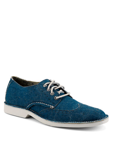 SPERRY TOP-SIDER Harbor Canvas Wingtip Oxfords