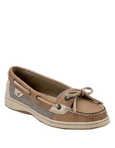 SPERRY TOP-SIDERAnglefish Slip-On Leather Boat Shoes