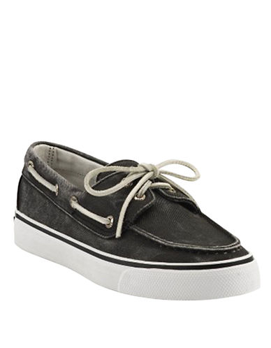 Sperry Women's Bahama Boat Shoes - Black (9)