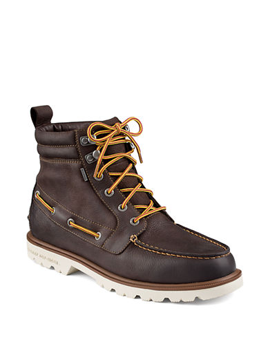 SPERRYA O Leather Lug Boot