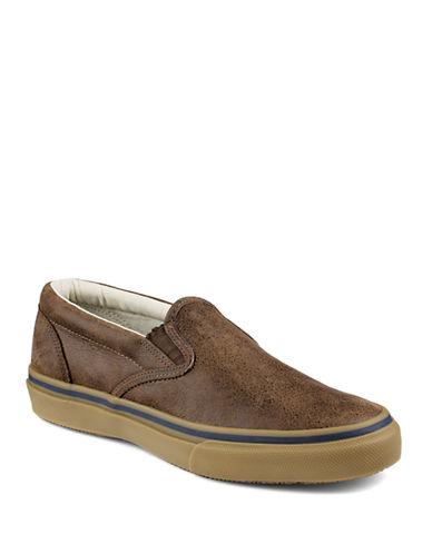 SPERRYStriper Leather Slip Ons