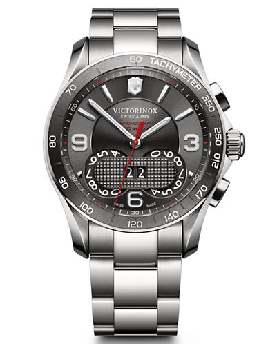 VICTORINOX SWISS ARMYMens Stainless Steel Chronograph Watch