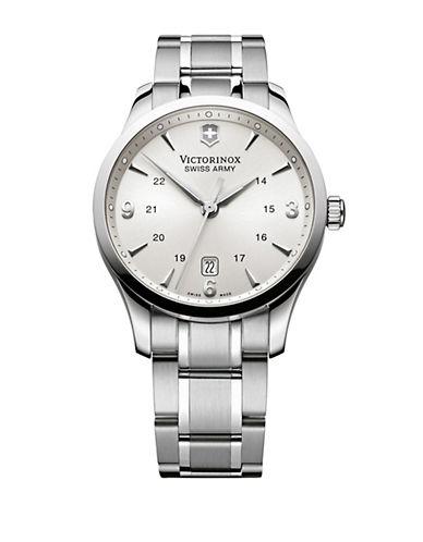 VICTORINOX SWISS ARMYMens Alliance Stainless Steel Watch