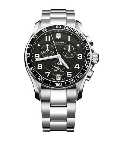 VICTORINOX SWISS ARMYMens Chrono Classic Stainless Steel Watch