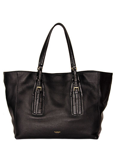 ISAAC MIZRAHI NEW YORK Maggie Leather Tote Bag
