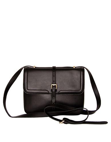 ISAAC MIZRAHI NEW YORKSusie Leather Crossbody Bag