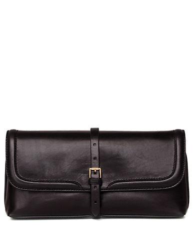 ISAAC MIZRAHI NEW YORKSusie Leather Clutch
