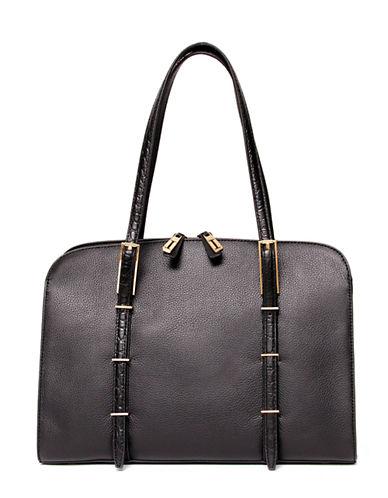 ISAAC MIZRAHI NEW YORKTrudy Leather Satchel