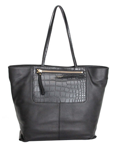 ISAAC MIZRAHI NEW YORK Lillie Leather Tote