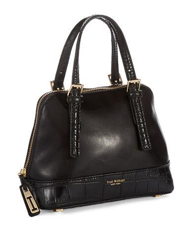 Isaac Mizrahi New York Nora Leather Crossbody Bag