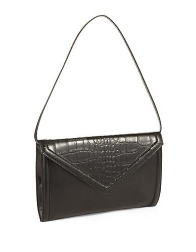 ISAAC MIZRAHI NEW YORKDarcy Leather Clutch