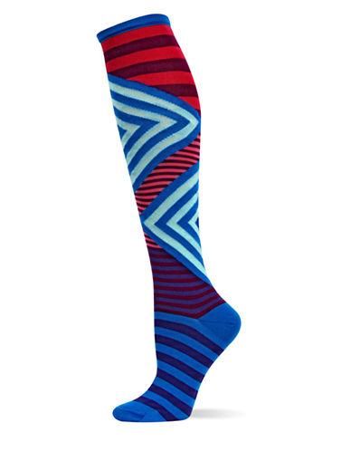 HOT SOXMixed Stripe Knee High Socks