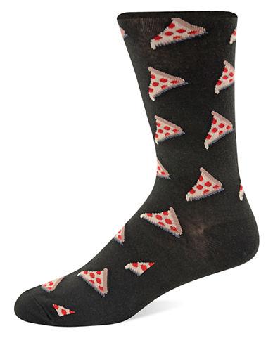 HOT SOXPizza Pattern Socks