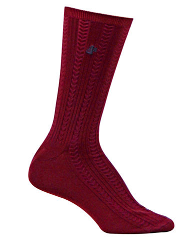 RALPH LAURENEmbroidered Herringbone Trouser Socks