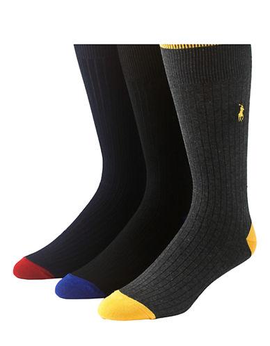 POLO RALPH LAUREN3-Pack Ribbed Socks