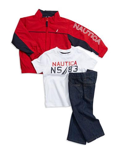 NAUTICABoys 2-7 Three Piece Jacket Set