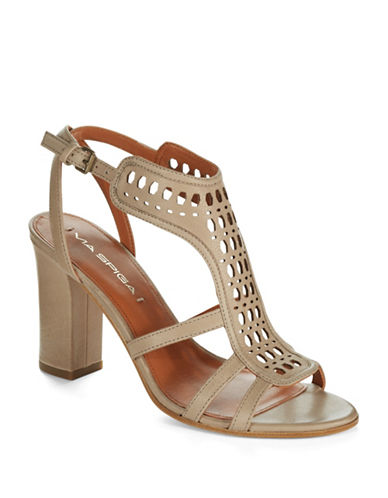 VIA SPIGA Fala Open Toe Heels