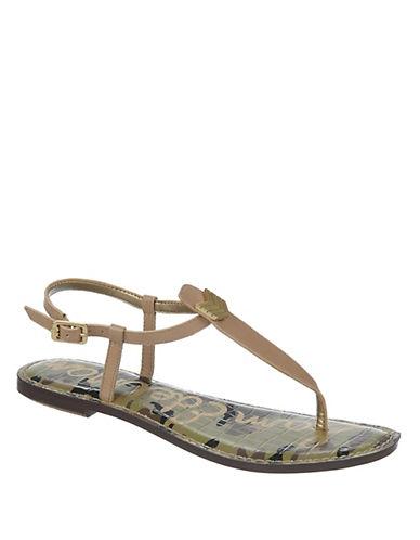 SAM EDELMANGigi Leather T-Strap Sandals