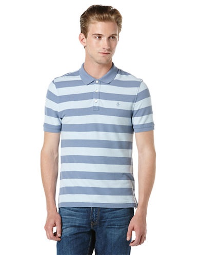 ORIGINAL PENGUINHeritage Slim Fit Stripe Polo Shirt