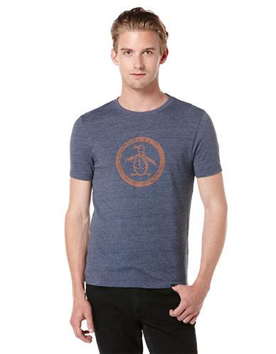 ORIGINAL PENGUINTri-Blend Distressed Circle Logo T-Shirt