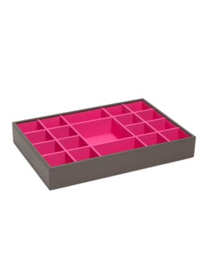 Colorblocked Accessory Tray by Wolf