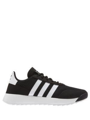Women's Flash Back Lace Up Sneakers by Adidas