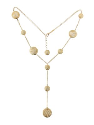 18 K Yellow Gold 10 Elements Necklace by Roberto Coin