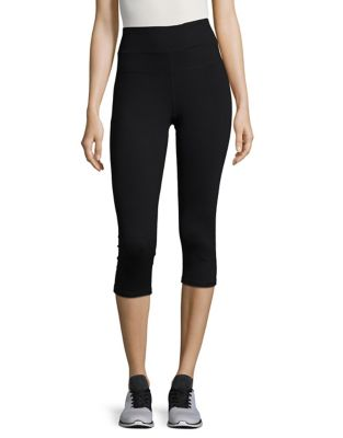 High Waist Crop Leggings by Calvin Klein Performance