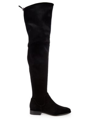 Lyra Velvet Over The Knee Boots by Donna Karan