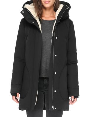 Fur Trimmed Zip Front Jacket by Soia & Kyo
