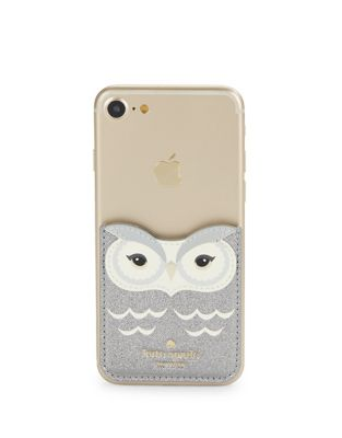 Leather Owl Phone Sticker by Kate Spade New York