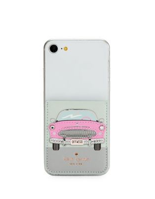 Hot Rod Sticker Pocket by Kate Spade New York