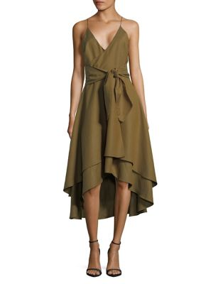 A Line Hi Lo Dress by Cmeo Collective