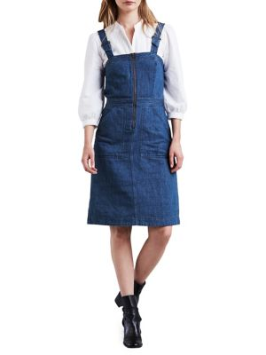 Max Denim Apron Pinafore Dress by Levi's