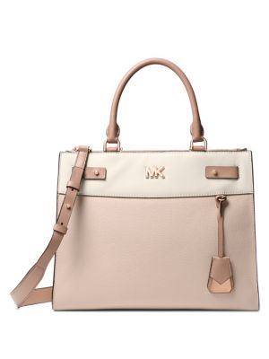 Reagan Large Leather Satchel by Michael Michael Kors