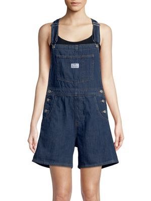 Sleeveless Denim Shortalls by Levi's
