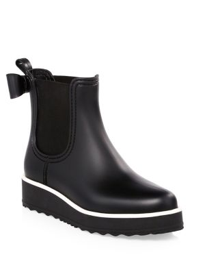 Classic Bow Rain Boots by Kate Spade New York