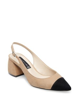 Agent Suede Slingback Pumps by Steven By Steve Madden