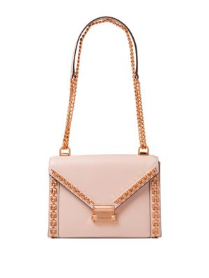 Whitney Long Shoulder Leather Crossbody by Michael Michael Kors