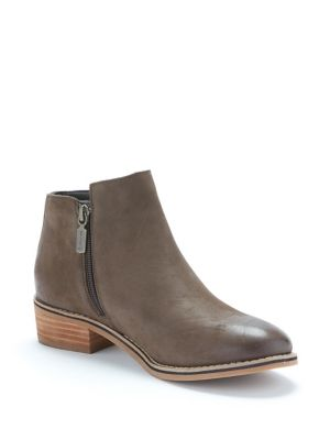Liam Leather Waterproof Booties by Blondo