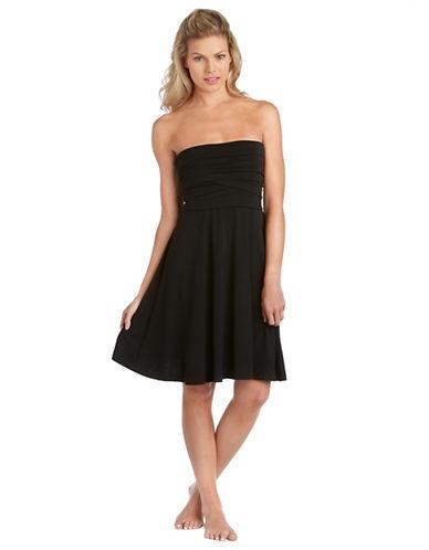 Shop J Valdi online and buy J Valdi Bandeau Cover up Dress dress online